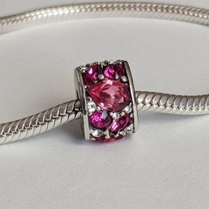 Chamilia Swarovski Pink Mosaic Charm